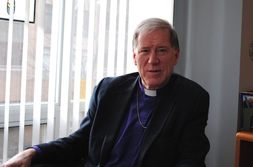 "Archbishop Fred Hiltz says he is ""deeply moved"" that parishes have organized prayer vigils for General Synod. Photo: Tali Folkins"