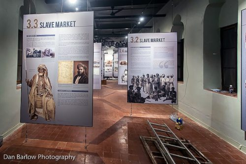 Le Centre du Patrimoine a ouvert le 15 juin avec l'exposition sur le commerce des esclaves en Afrique de l'Est. Photo: Dan Barlow/Diocèse de Zanzibar
