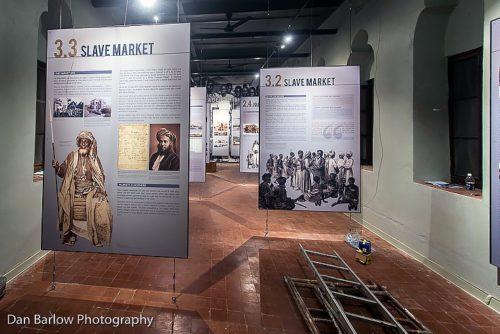 El Centro de Patrimonio Cultural se inauguró el 15 de junio con una exposición sobre la Trata de Esclavos en África Oriental. Foto de Dan Barlow/Diócesis de Zanzíbar