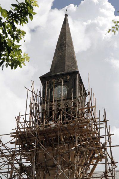 Le Diocèse de Zanzibar doit encore lever des fonds pour rénover la flèche. Photo: Lynette Wilson/Episcopal News Service