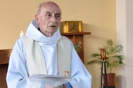 Father Jacques Hamel, who was martyred by supporters of Daesh as he celebrated Mass at the Church at St-Etienne-du-Rouvray, near Rouen in Normandy, France. Photo: Eglise Saint-Etienne-du-Rouvray