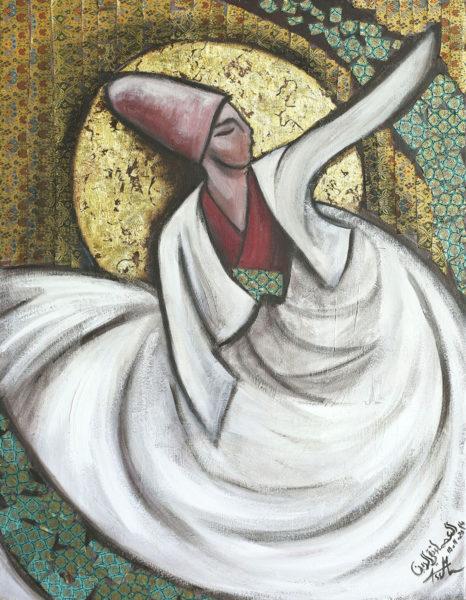 """Greatest Love"" by Syrian artist Asmaa Takieddine"