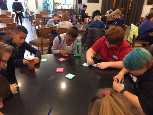 Youth participate in the Acceptance Youth Summit at Trinity Episcopal Church in Tulsa, Oklahoma. Photo: Trinity Episcopal Church