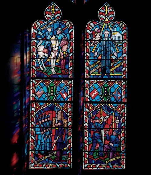 Robert E Lee window