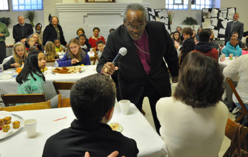 Presiding Bishop Curry undercroft