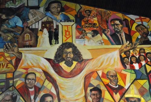 Absalom Jones mural detail