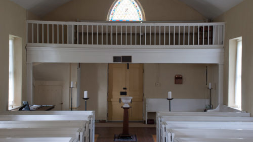 St. John's slave gallery