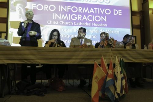 Immigration forum in Houston