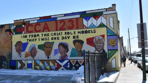 CCA Academy north mural