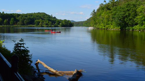 Connecticut River paddling