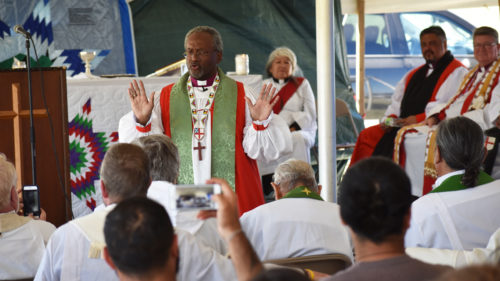 Michael Curry sermon at Niobrara