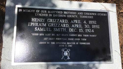 Nashville lynching marker