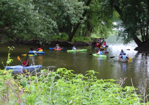 Sutton Scholars kayaks