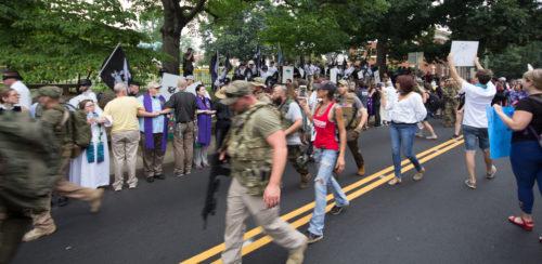Charlottesville march