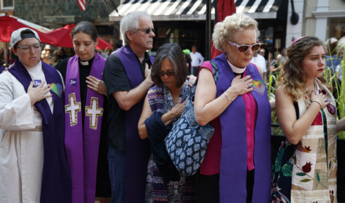 Charlottesville memorial service