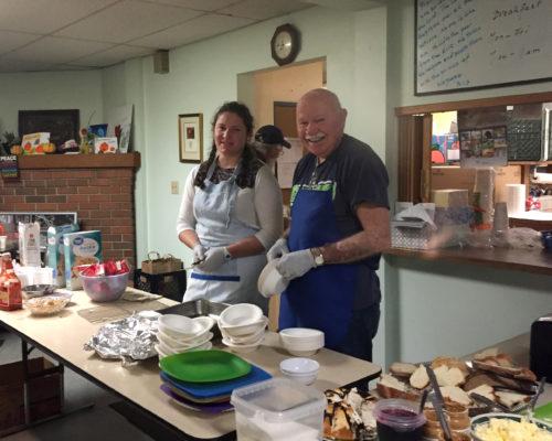 Edible Hope volunteers