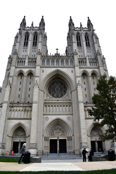 Washington National Cathedral west towers