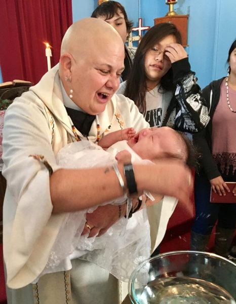 Lauren Stanley baptism
