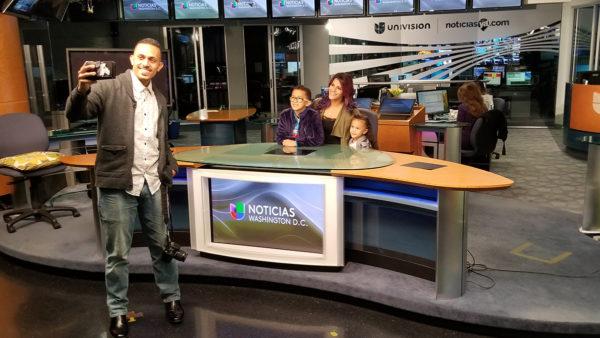 Univision visit