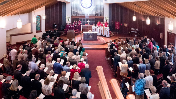 Congregation at St. James the Great