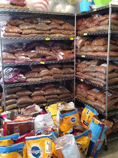 St. Andrew's pet food bags