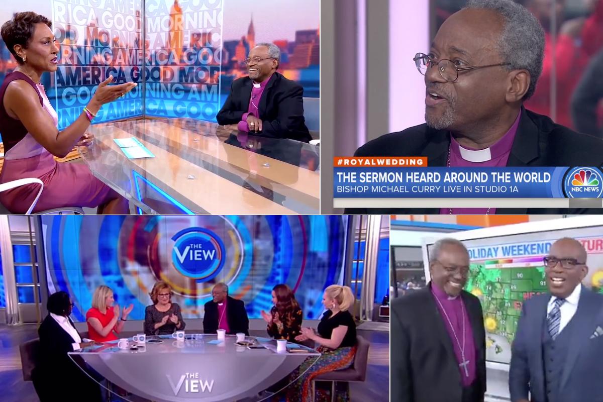 After Royal Wedding Media Blitz Presiding Bishop Spurs