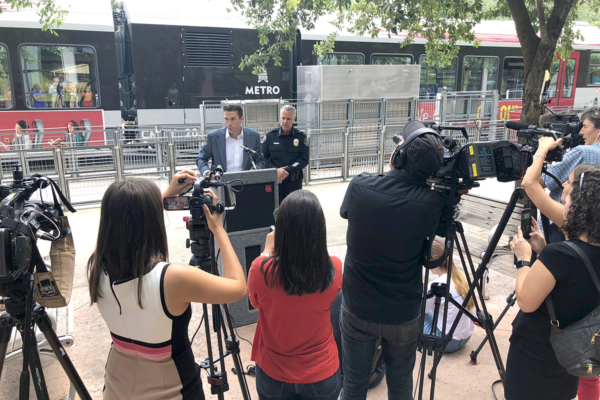transit news conference