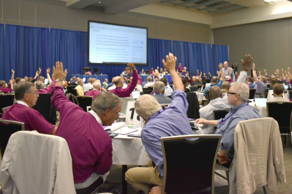 Bishops vote on Israel-Palestine