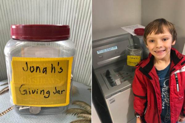 Jonah's Giving Jar