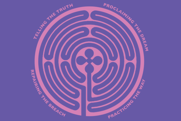 Becoming Beloved Community labyrinth