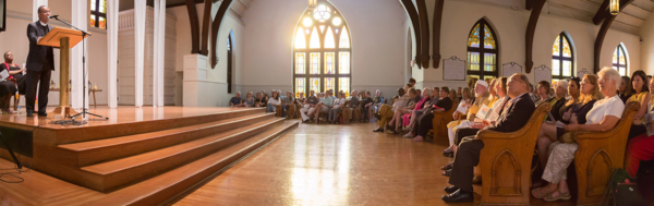 Charlottesville Clergy Collective service panorama