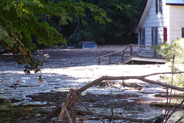 Northern Michigan provides emergency assistance in the wake
