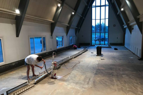Resurrection Church renovations