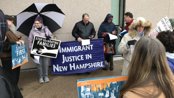 Immigrant prayer vigil