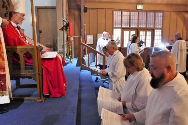 New deacons in San Joaquin