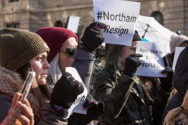 Virginia protesters