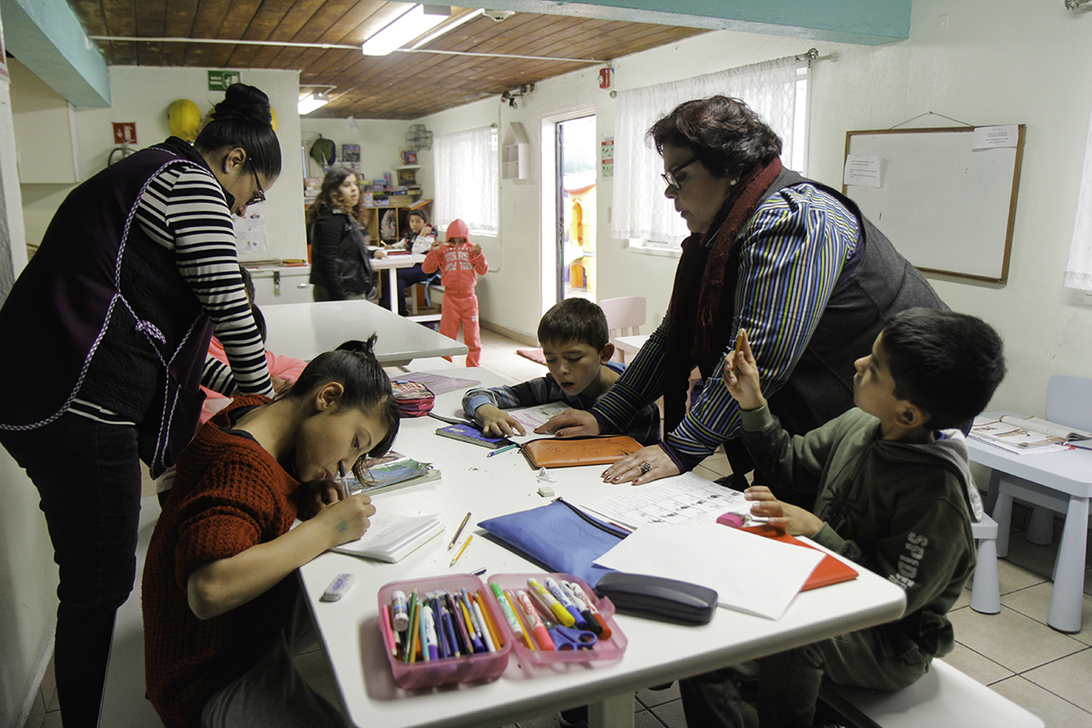Vida Joven de Mexico offers 'orphans' a home, education and