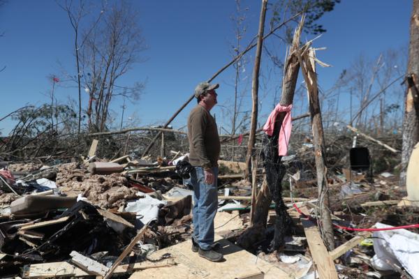 Alabama tornado remains
