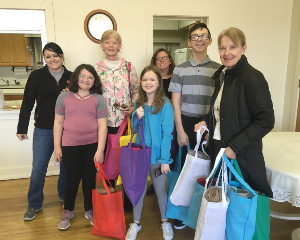 Tote bag ministry