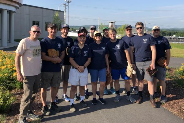 New Hampshire prison softball team