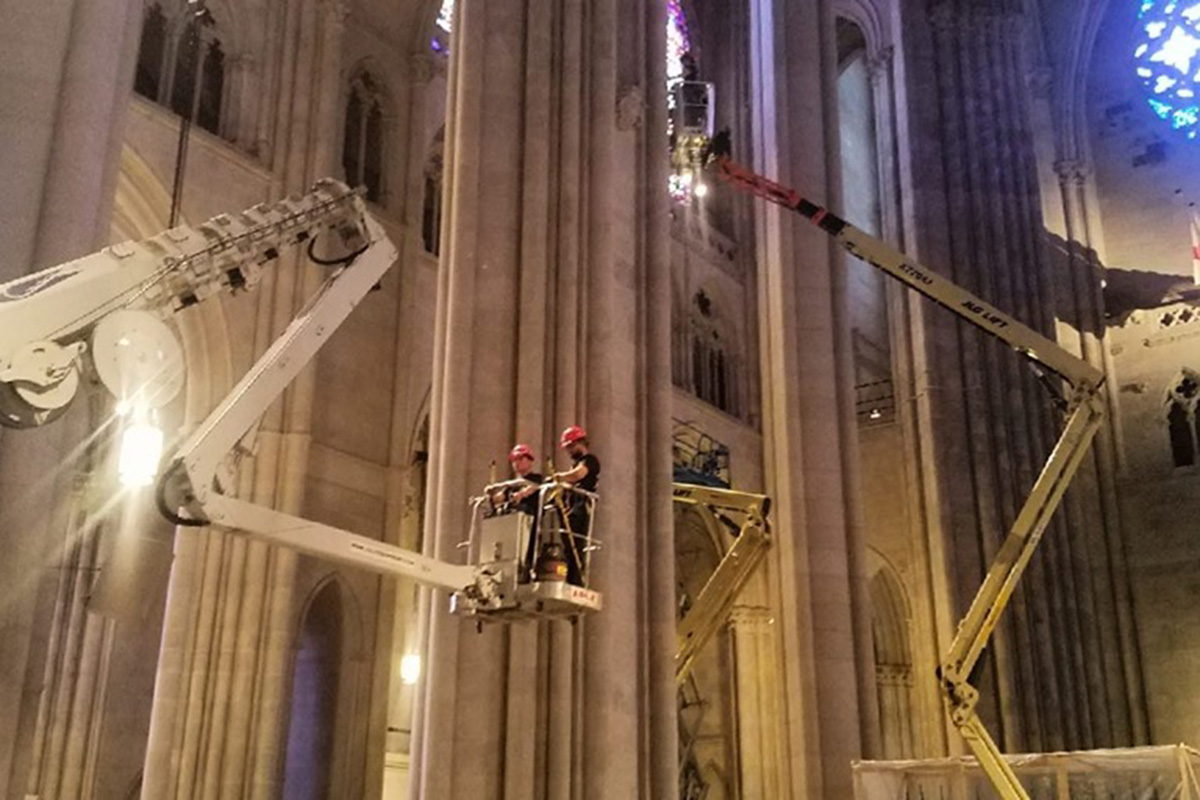 St Johns Christmas Eve Service 2020 Nyc New York's St. John the Divine makes progress on cathedral