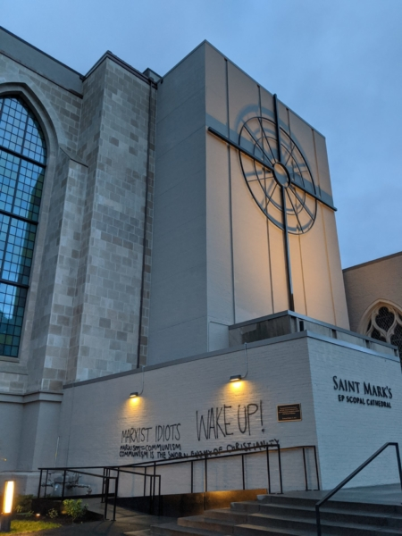St. Mark's vandalism