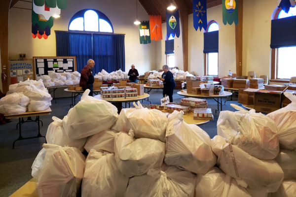 St. Jude's food ministry