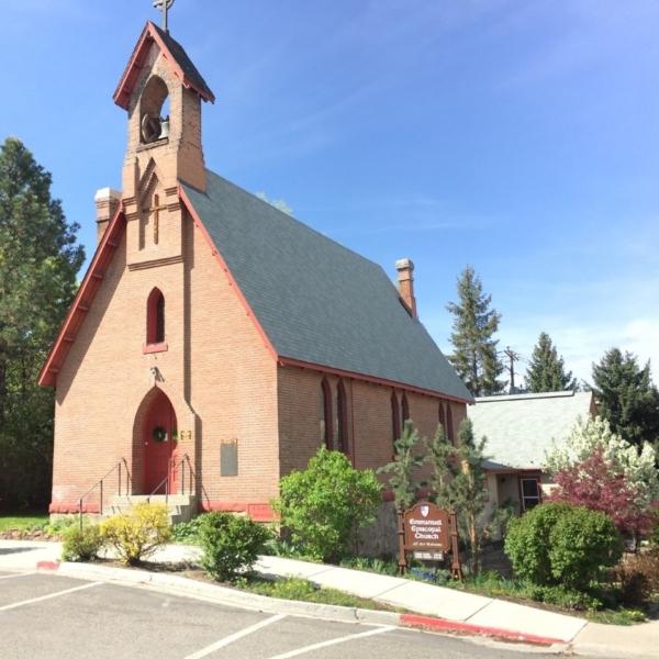 Emmanuel Episcopal Church in Hailey, Idaho