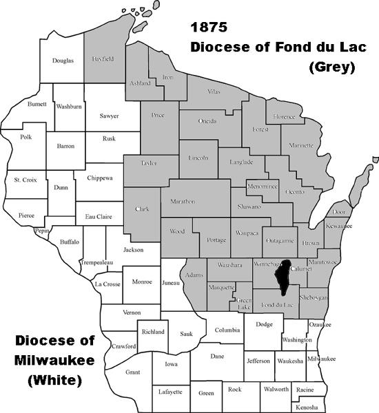 Fond du Lac map