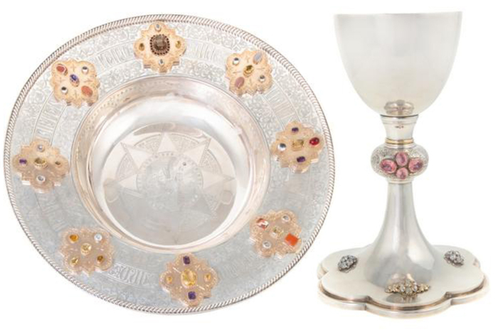 St Paul's plate and chalice