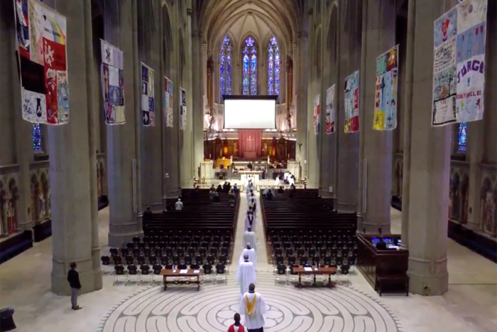 Grace Cathedral evensong